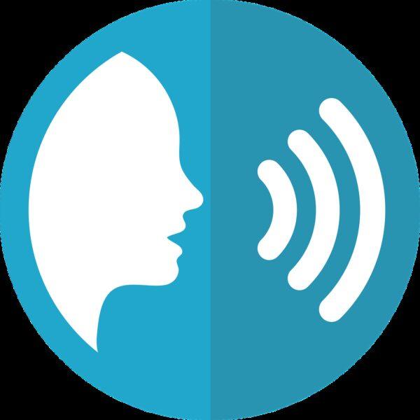 speech icon, voice, talking
